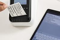QL-820NWB print label