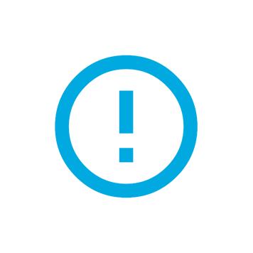 Barcode Utility - Udråbstegn i cirkel