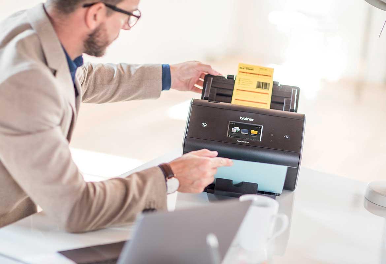 Barcode utility scanning af dokumenter