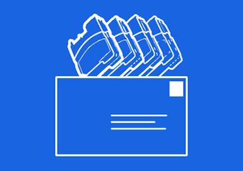 returkonvolut ikon