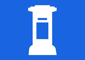 postkasse ikon