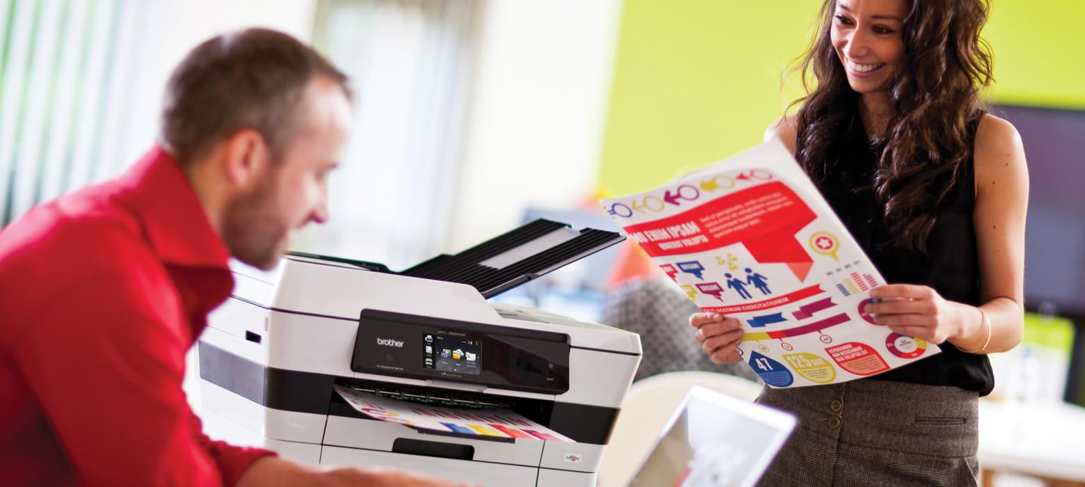 mand og kvinde printer