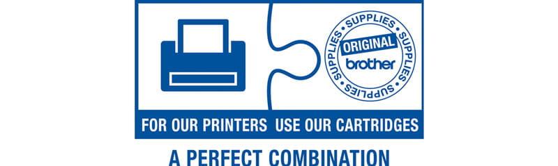 Use Brother Original Supplies logo