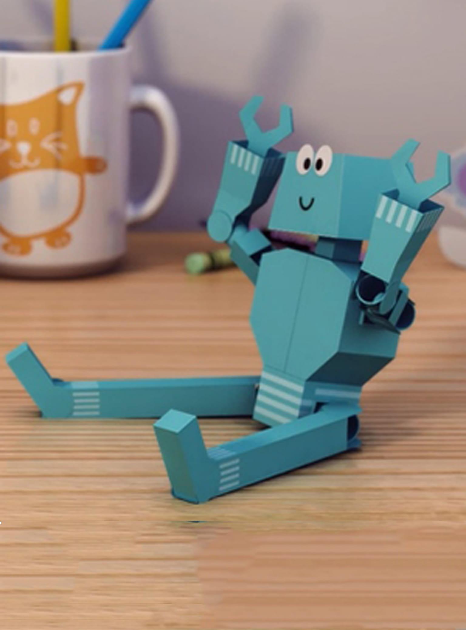 grøn robot creative center