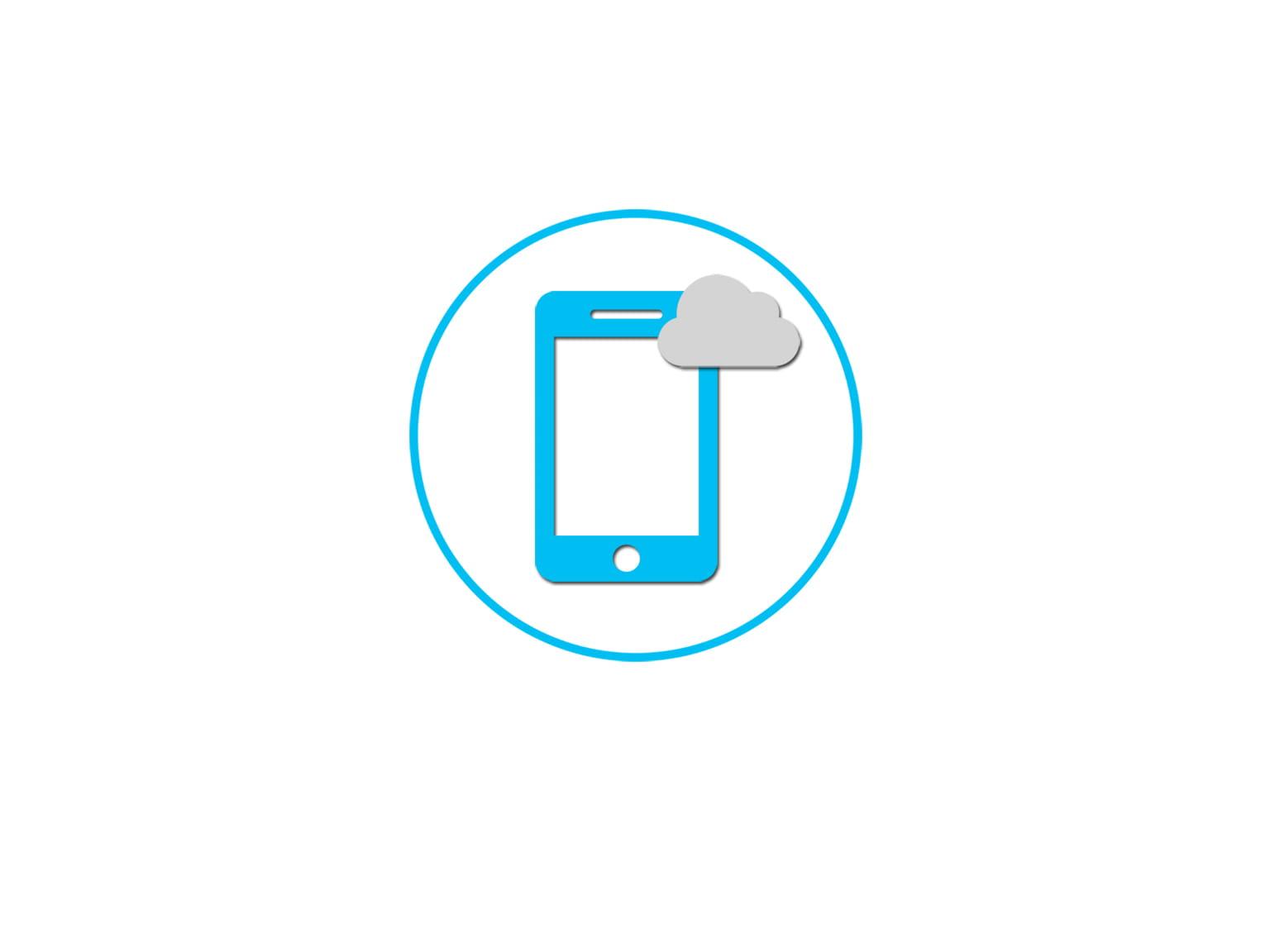 mobil i skyen
