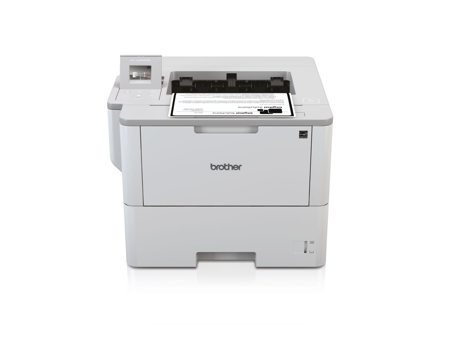 Brother sort hvid laserprinter