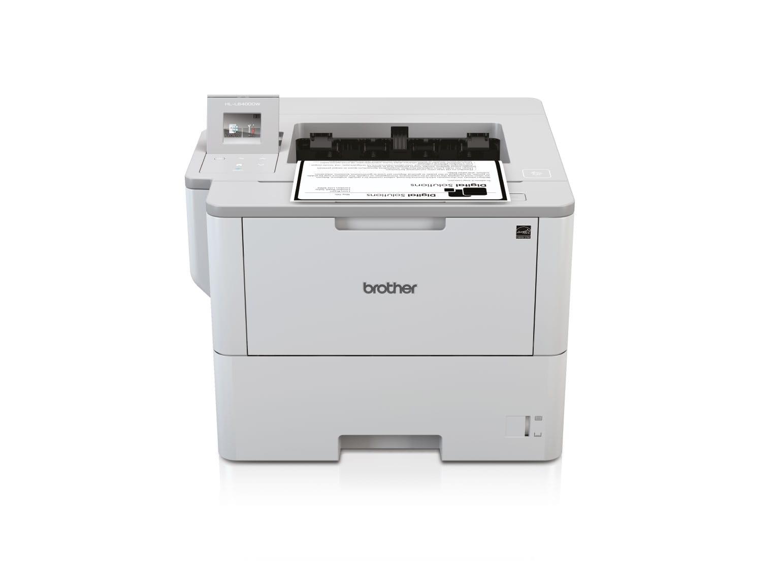 Brother sort hvid laserprinter