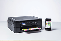 DCP-J572DW med smartphone print
