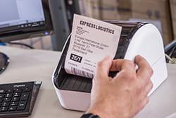 QL-1100 labelprinter til brug på fx et lager
