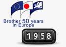 1958 Brother blev etableret i Europa