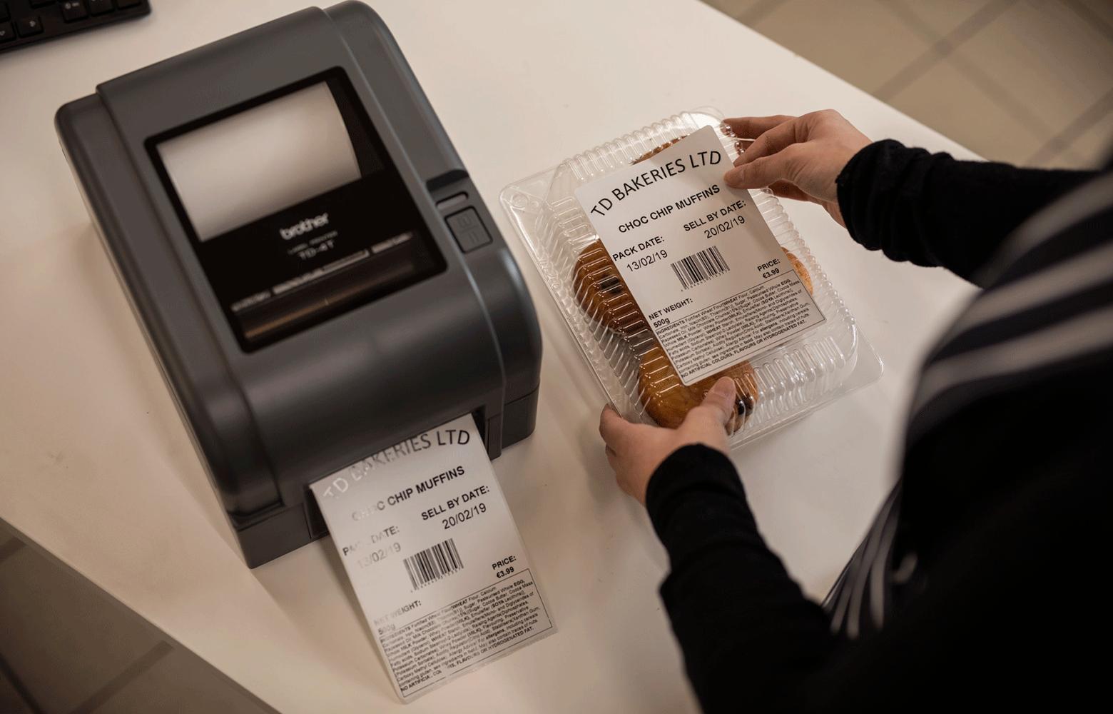 Fødevareopmærkning med labelprinter