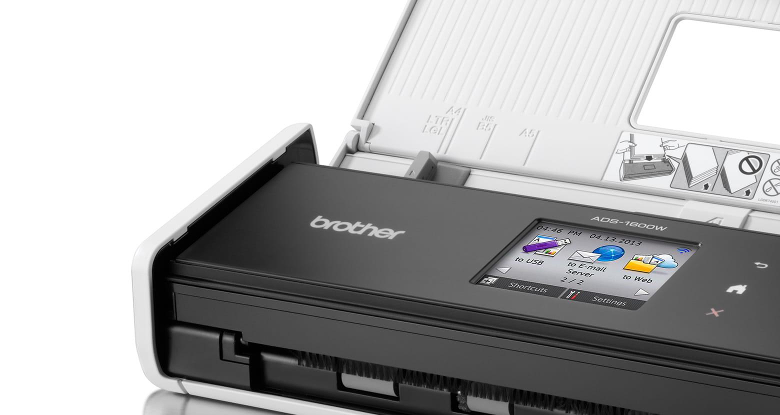 Brother kompakt scanner