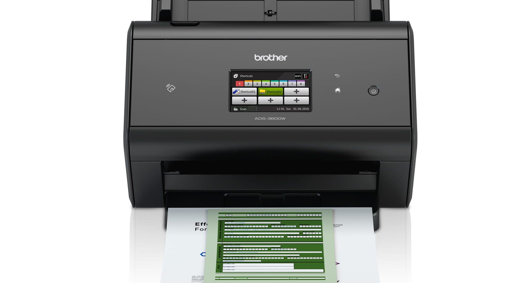Brother scanner skrivebordsscanner