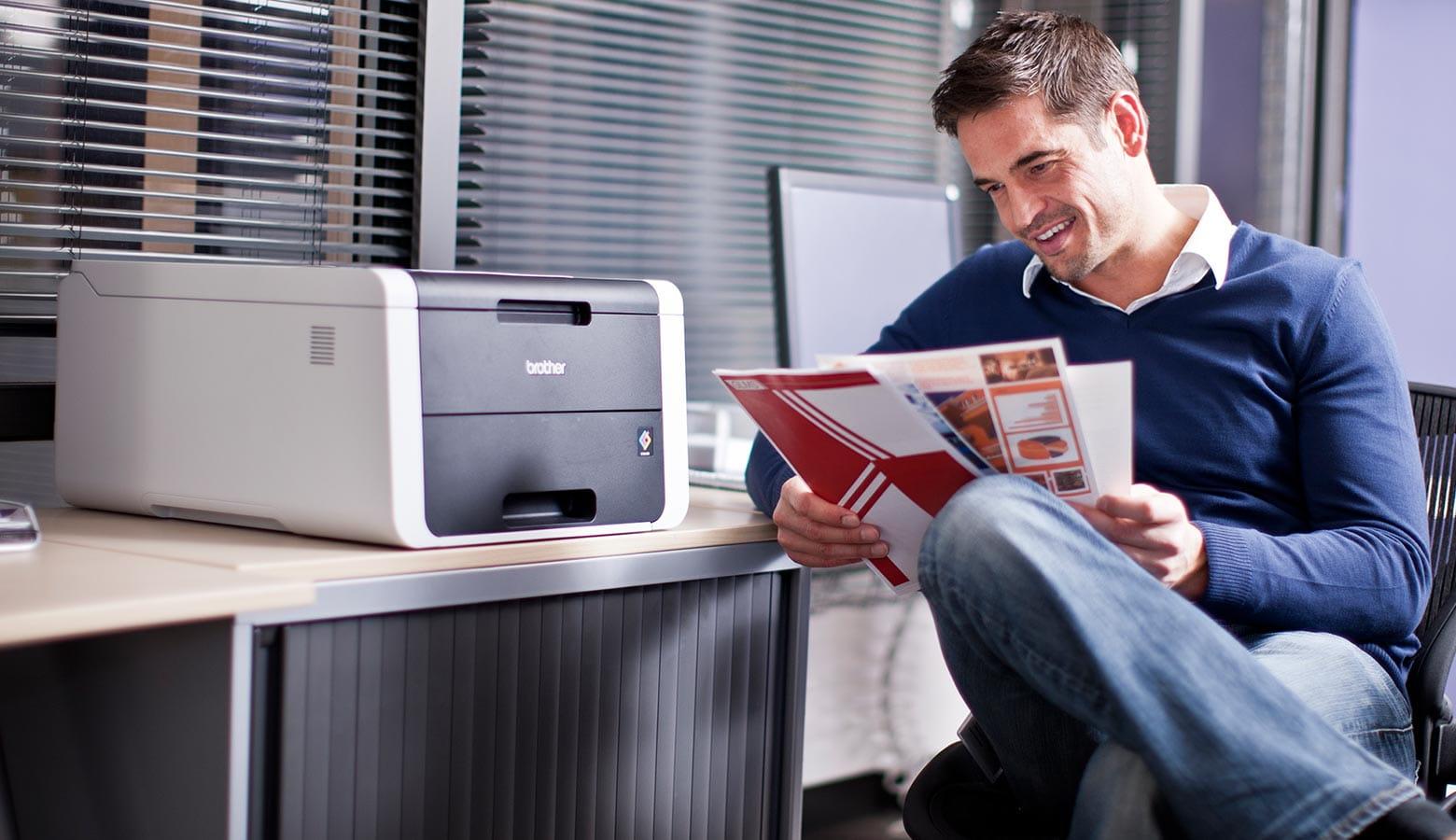 Brother printer til det lille kontor