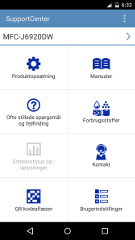 Supportcenter-app