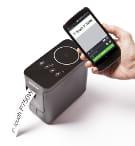 PT-P750W labelprinter og smartphone