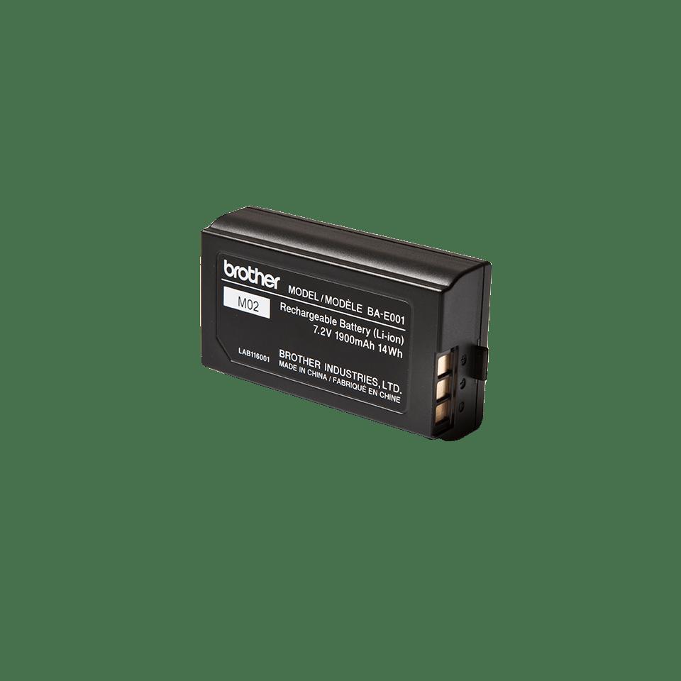 Det originale BAE001 P-touch genopladeligt Li-ion batteri fra Brother