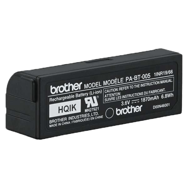 PA-BT-005 - genopladeligt batteri (til Brothers P-touch CUBE Plus) 4