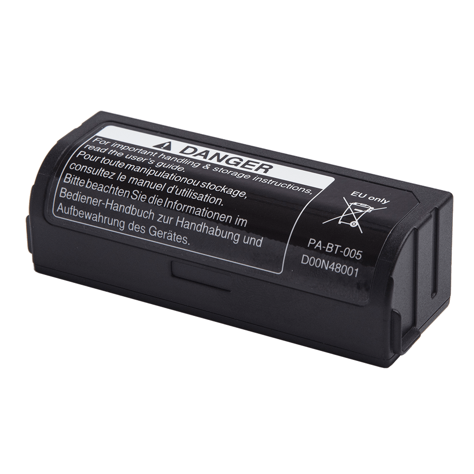 PA-BT-005 - genopladeligt batteri (til Brothers P-touch CUBE Plus) 2