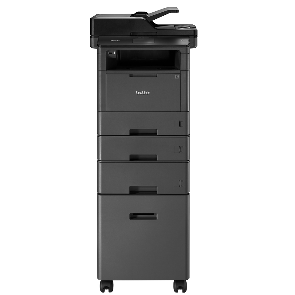 Skab der passer til L5000-serien af sort/hvide laserprintere 6
