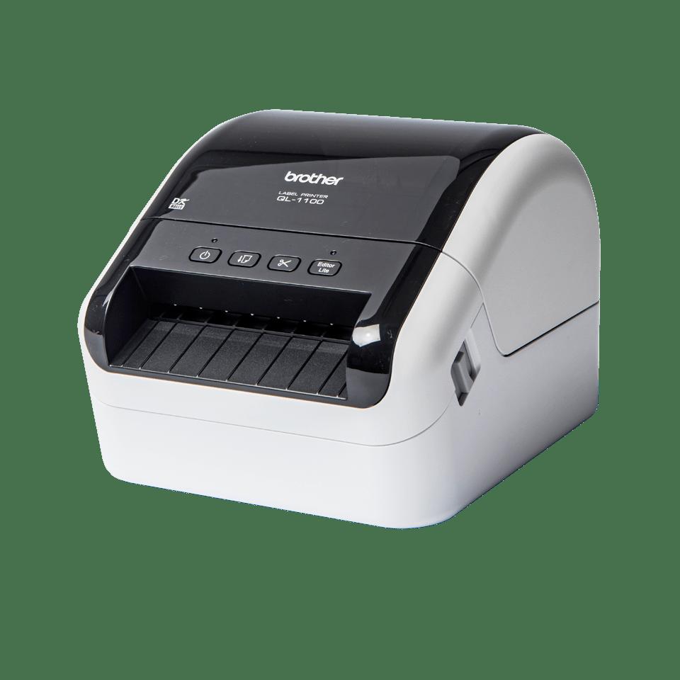 QL-1100 labelprinter til fragtlabels med stregkoder  2