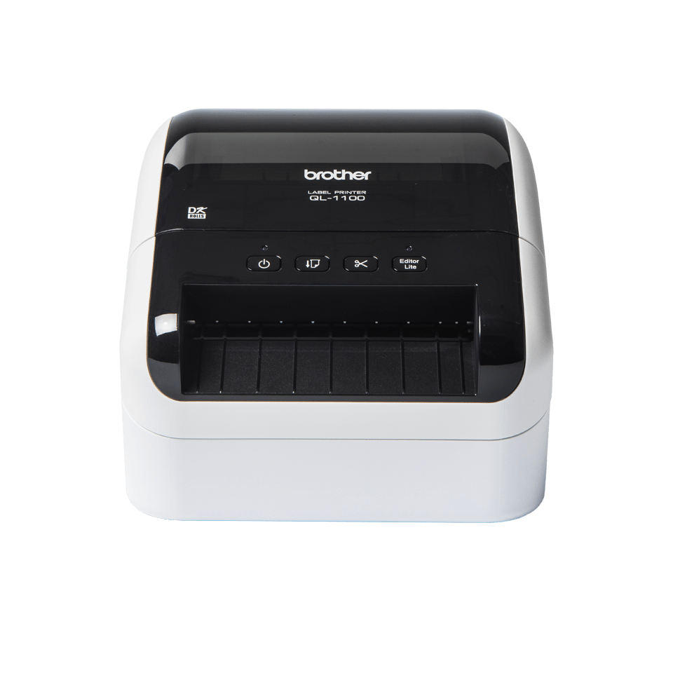 QL-1100 labelprinter til fragtlabels med stregkoder