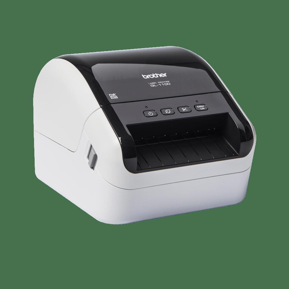 QL-1100 labelprinter til fragtlabels med stregkoder  3