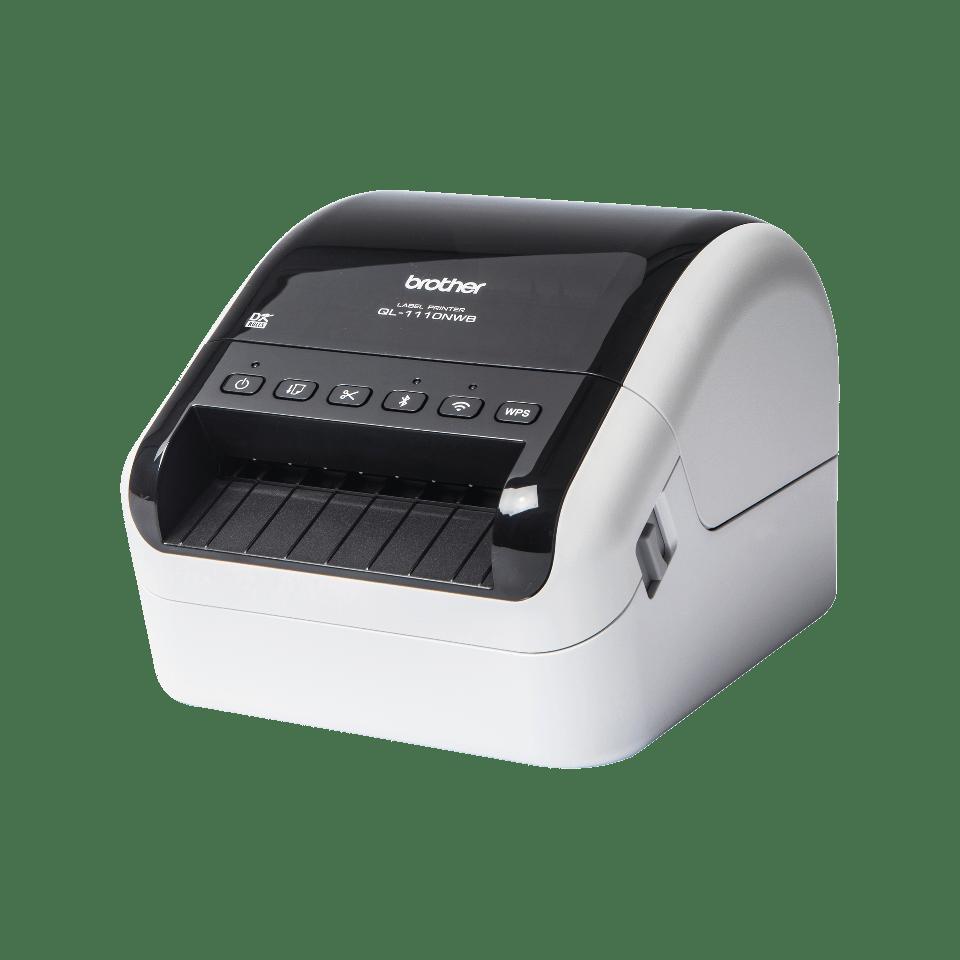 QL-1110NWB - labelprinter til fragtlabels med stregkoder
