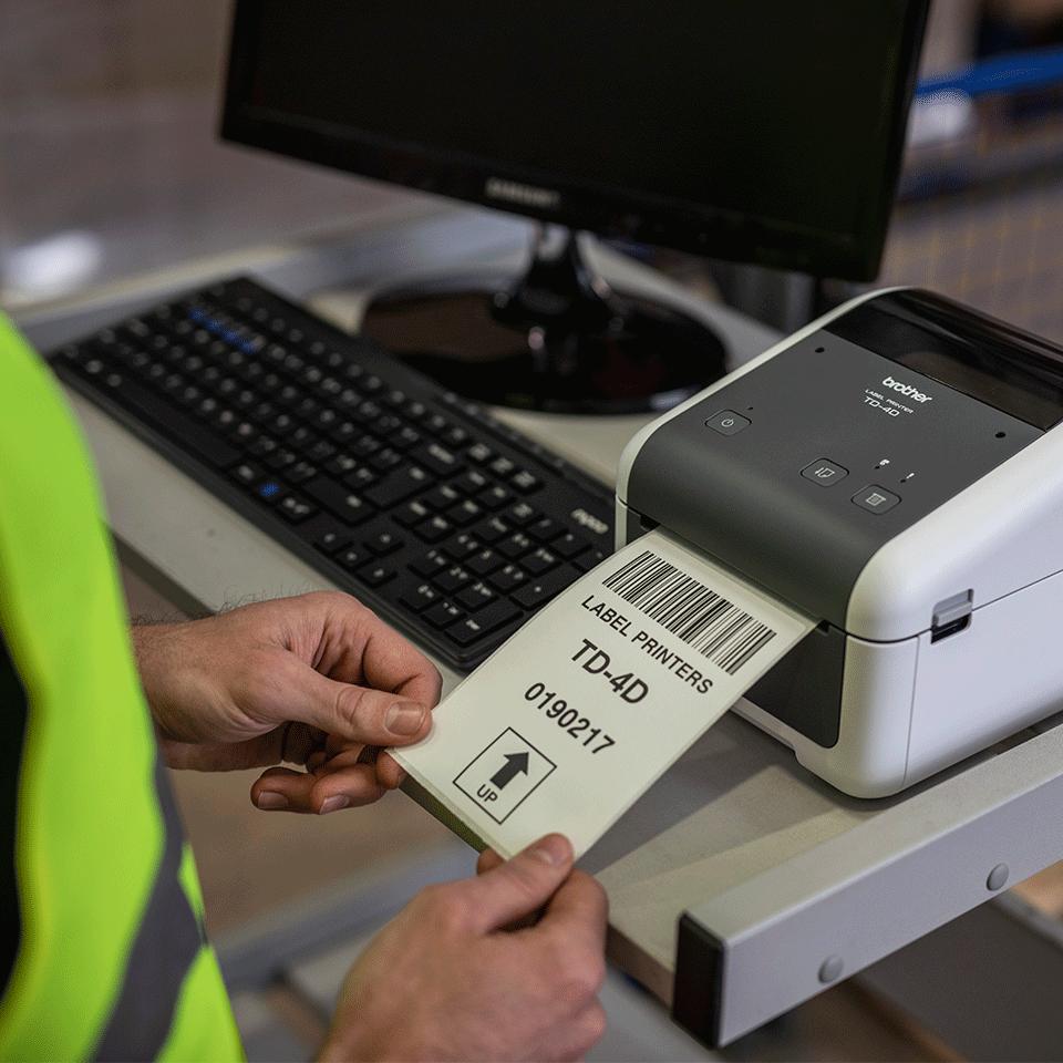 TD-4520DN professionel labelprinter 5