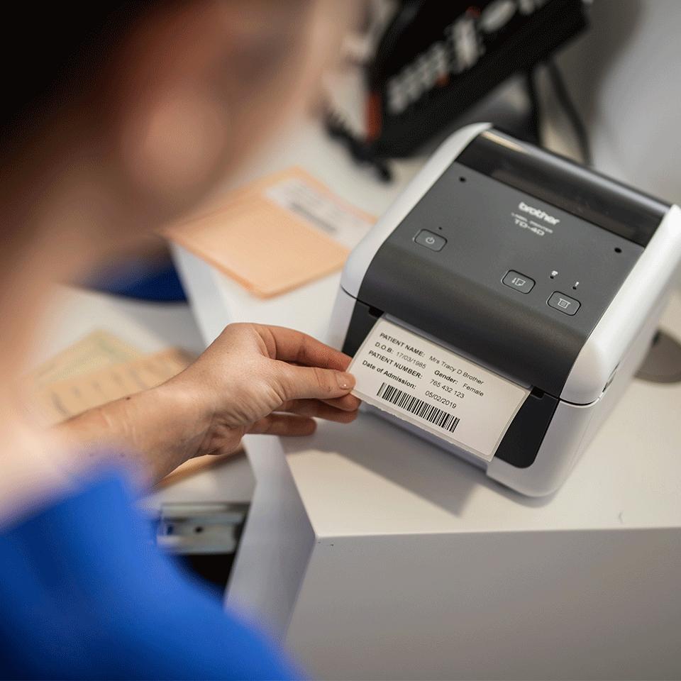 TD-4520DN professionel labelprinter 6