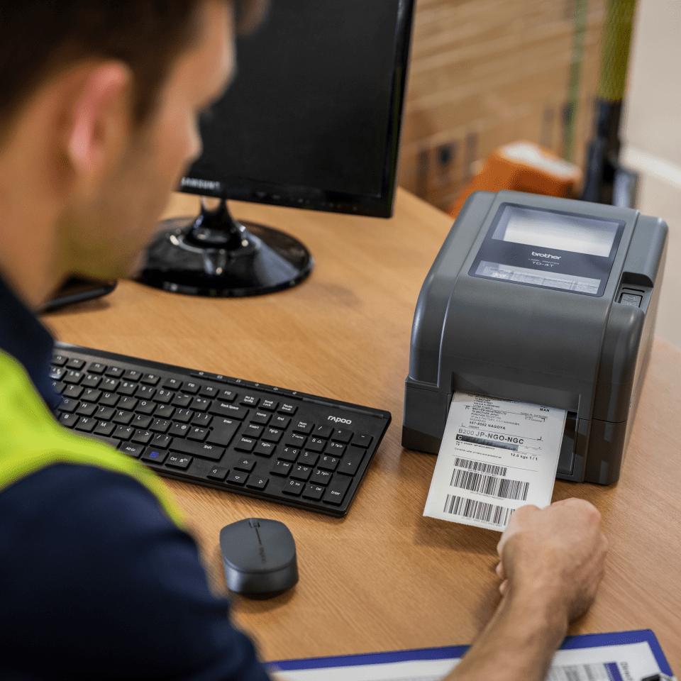 Brother TD-4520TN professionel labelprinter 6