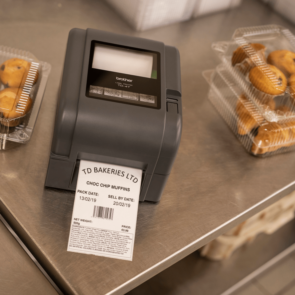Brother TD-4520TN professionel labelprinter 8