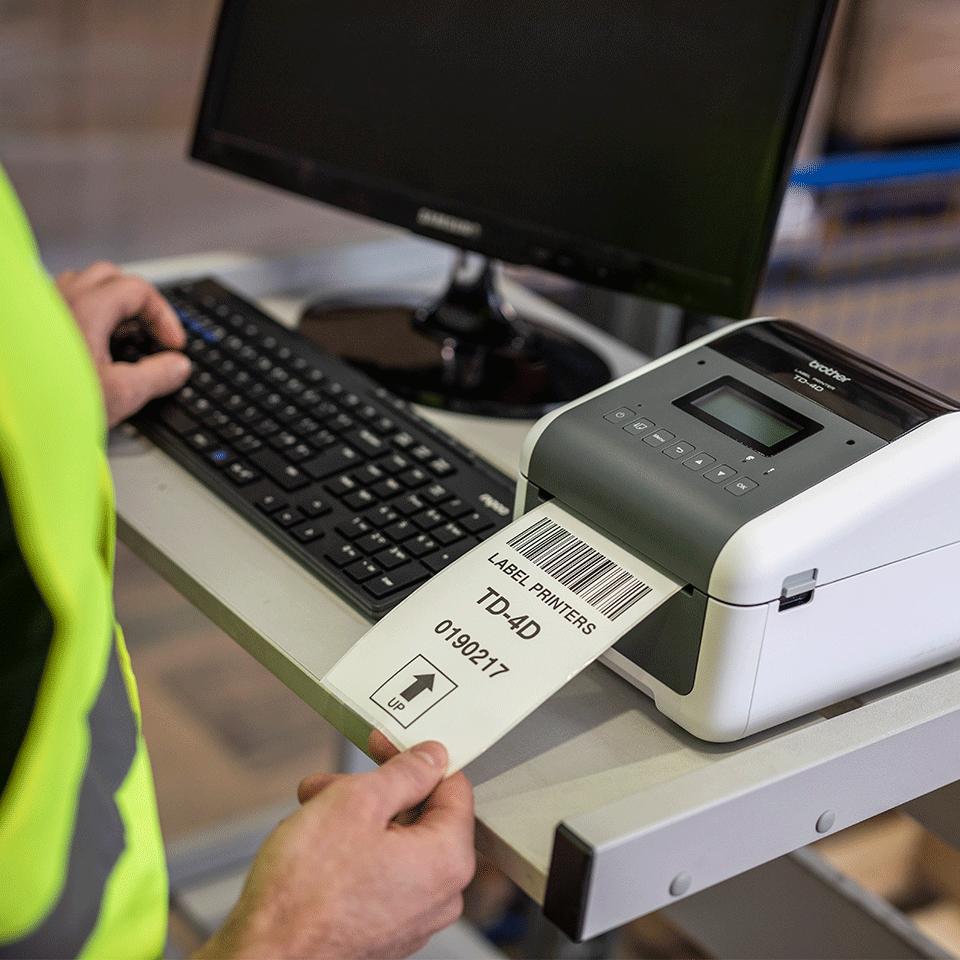 TD-4550DNWB professionel labelprinter med Bluetooth 7
