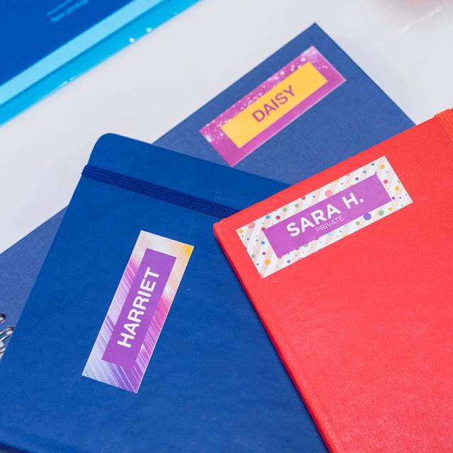 VC-500W - labelprinter, der printer labels i  fuld farve 11