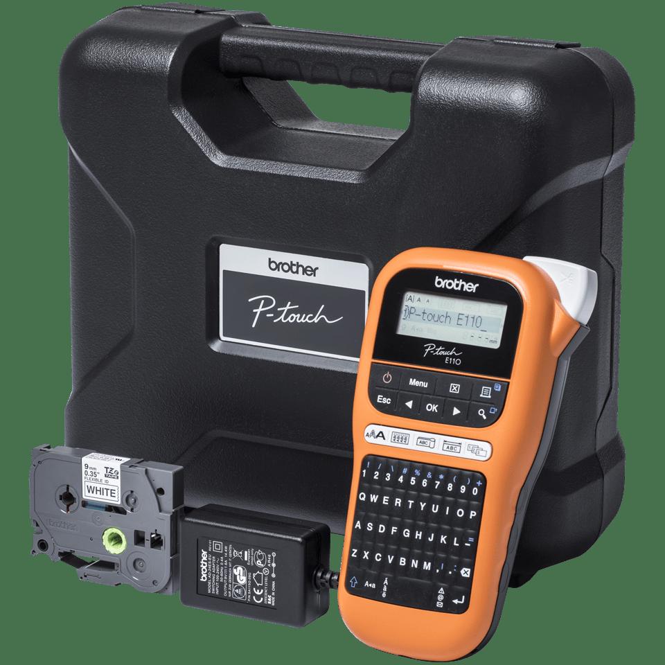 PT-E110VP labelprinter til elektrikere 4
