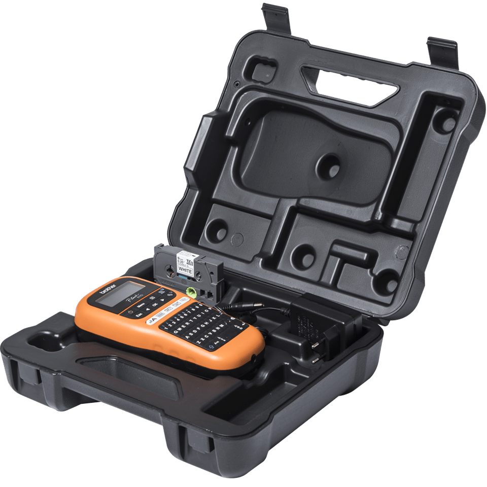 PT-E110VP - labelprinter til elektrikere 5