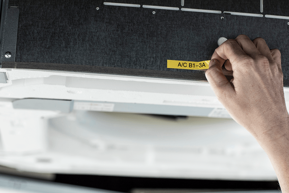 PT-E110VP - labelprinter til elektrikere 9