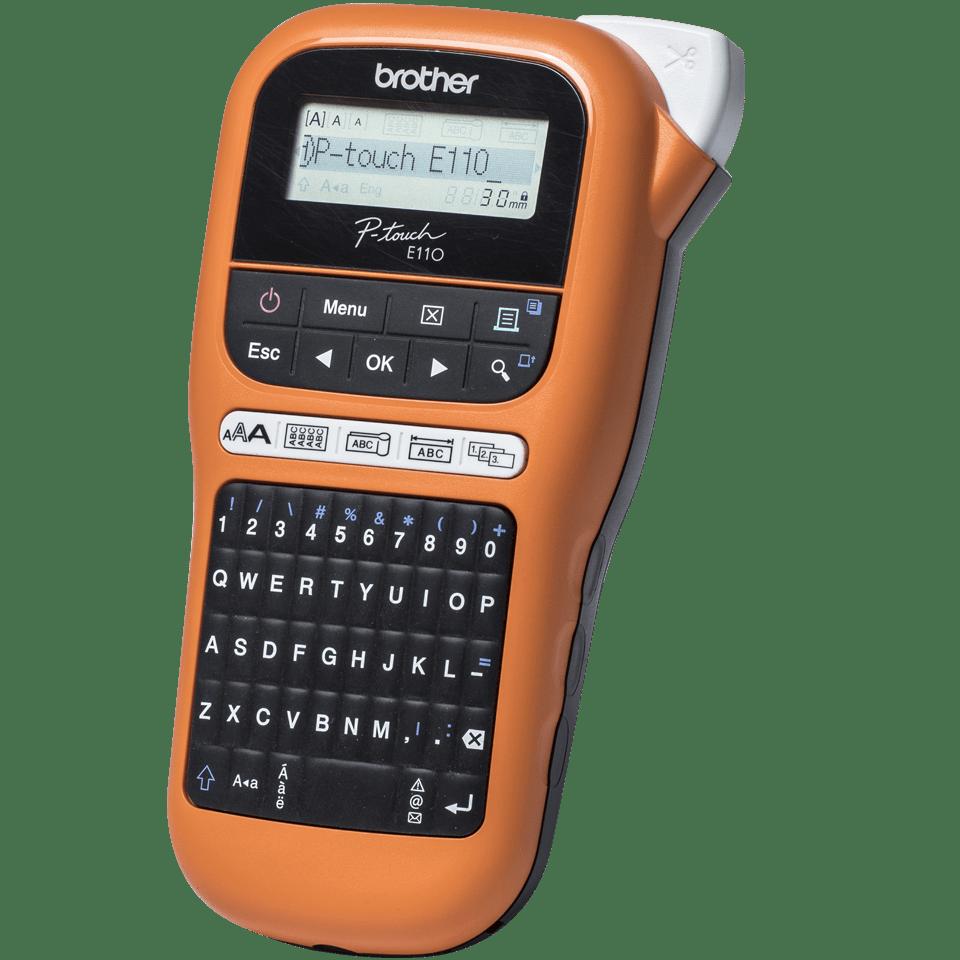 PT-E110VP labelprinter til elektrikere 2