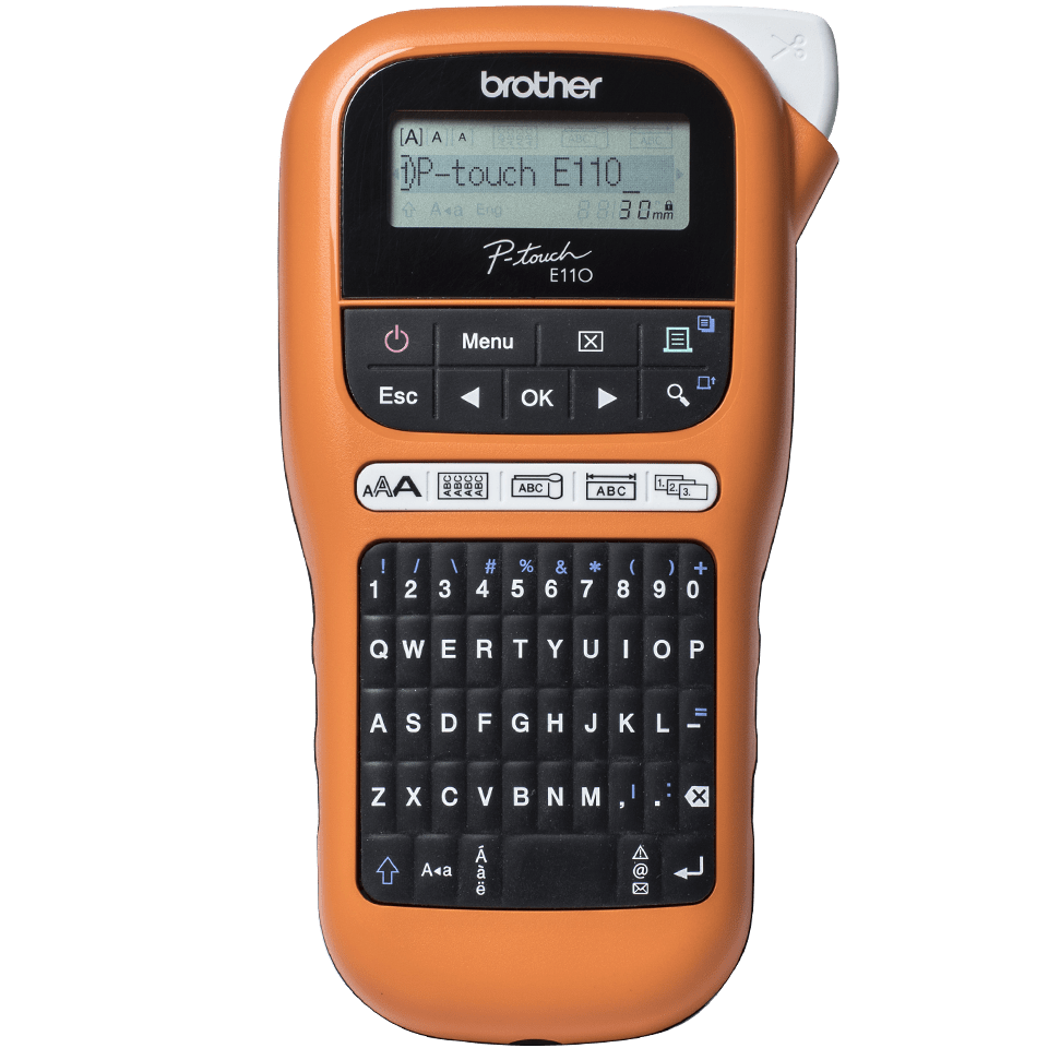Brother P-touch PT-E110VP labelprinter til elektrikere