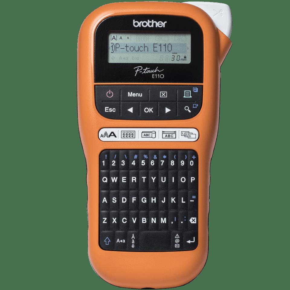 PT-E110VP - labelprinter til elektrikere