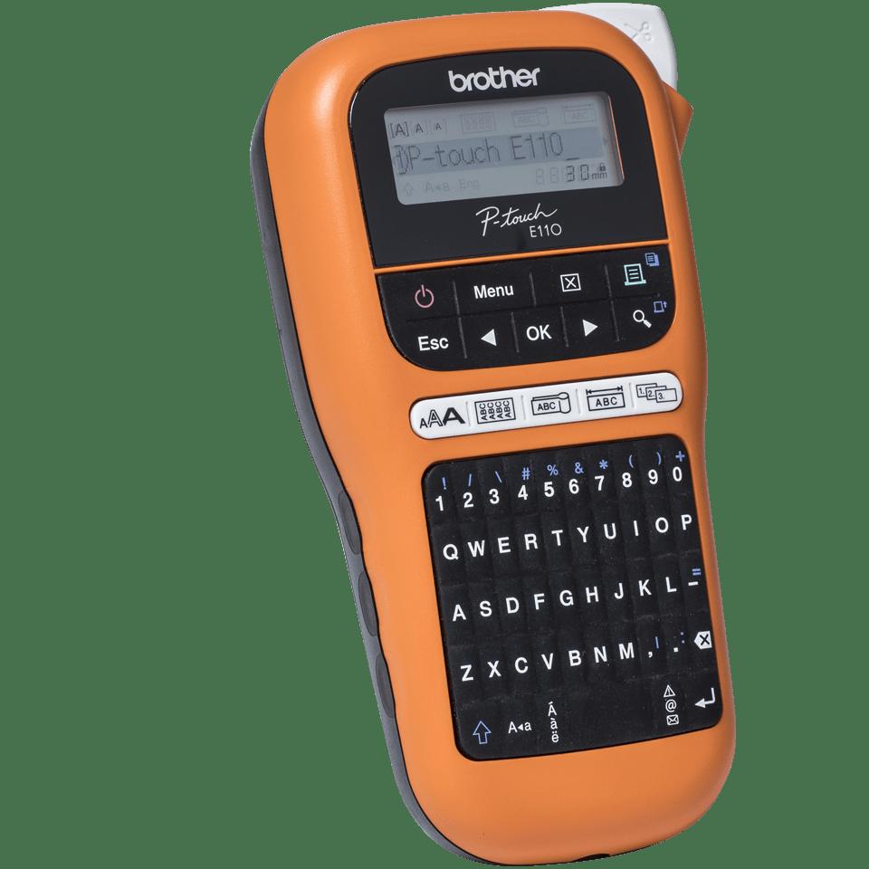 PT-E110VP - labelprinter til elektrikere 3