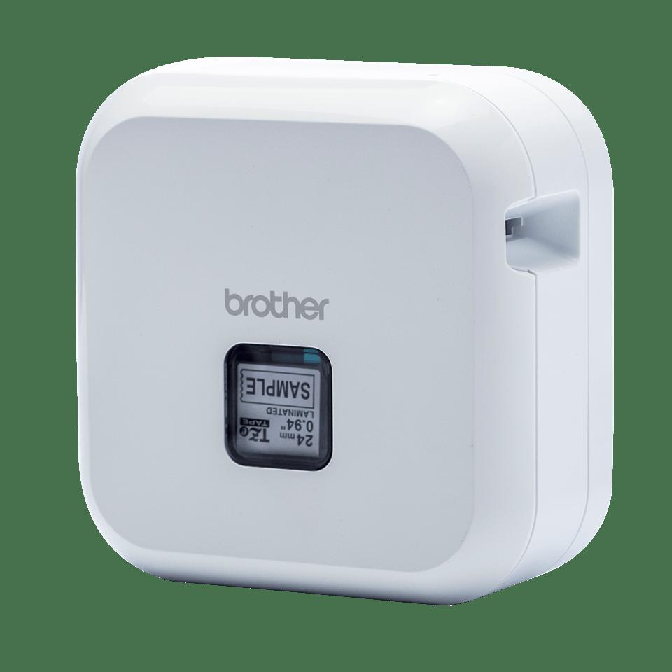 P-touch CUBE Plus i hvid (PT-P710BTH) - genopladelig labelprinter med Bluetooth 3