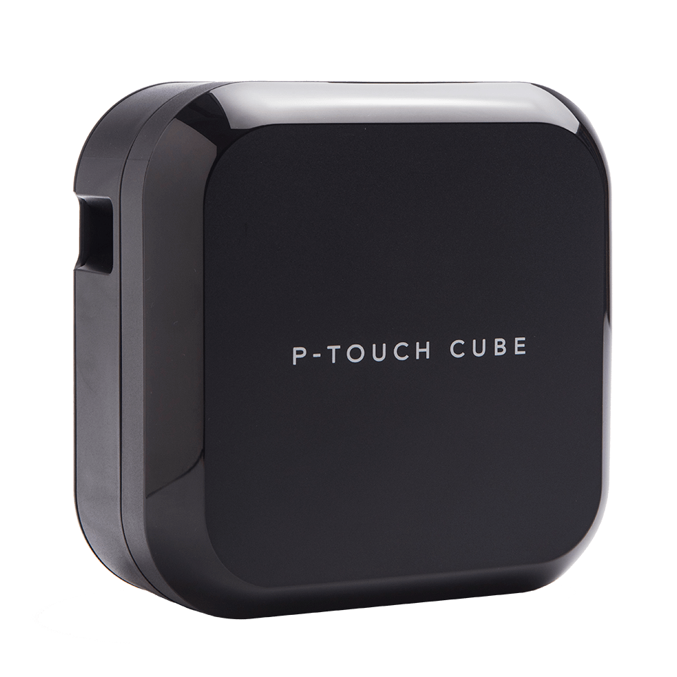 P-touch CUBE Plus genopladelig labelprinter med Bluetooth