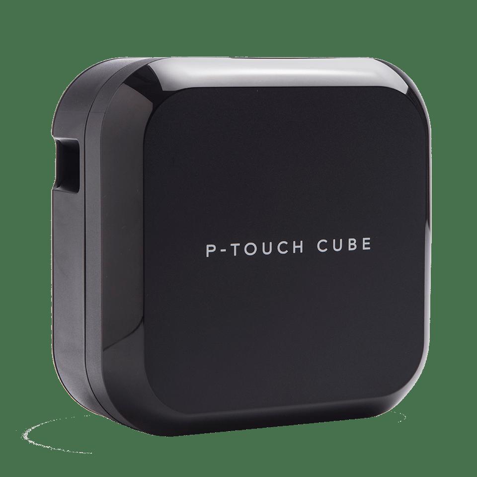 P-touch CUBE Plus i sort (PT-P710BT) - genopladelig labelprinter med Bluetooth