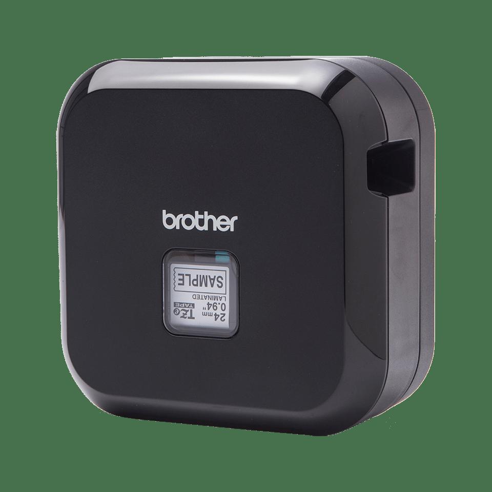 P-touch CUBE Plus i sort (PT-P710BT) - genopladelig labelprinter med Bluetooth 2