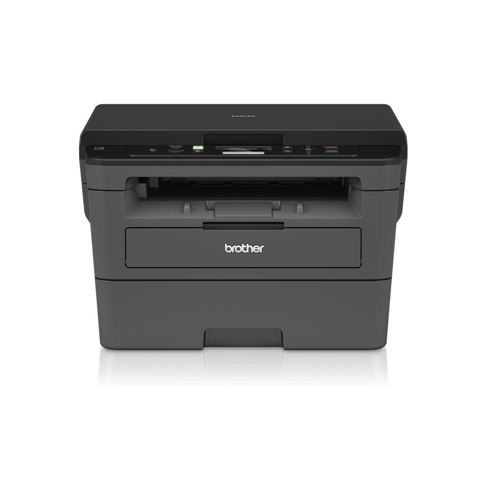 Brother DCPL2530DW - kompakt alt-i-én sort/hvid laserprinter