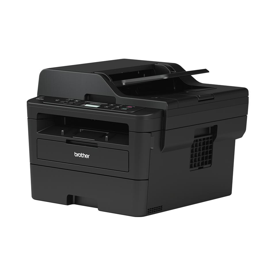 Brother DCPL2550DN - kompakt alt-i-én sort/hvid laserprinter