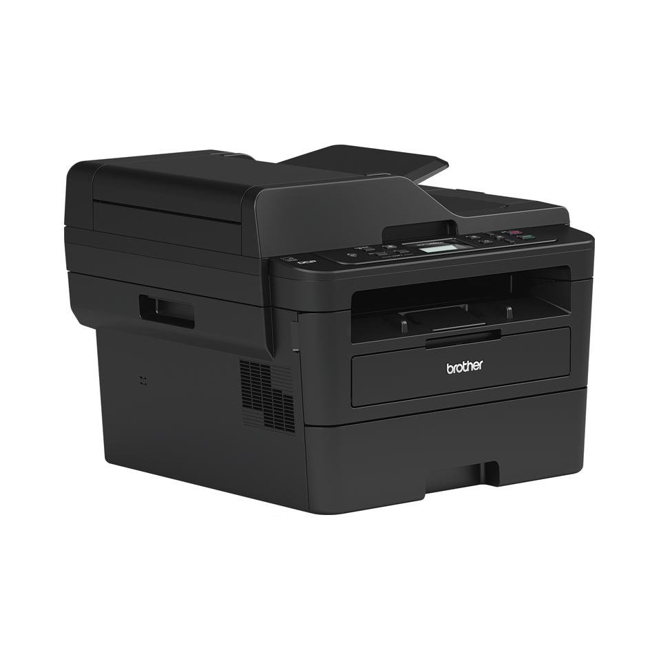 Brother DCPL2550DN - kompakt alt-i-én sort/hvid laserprinter  3