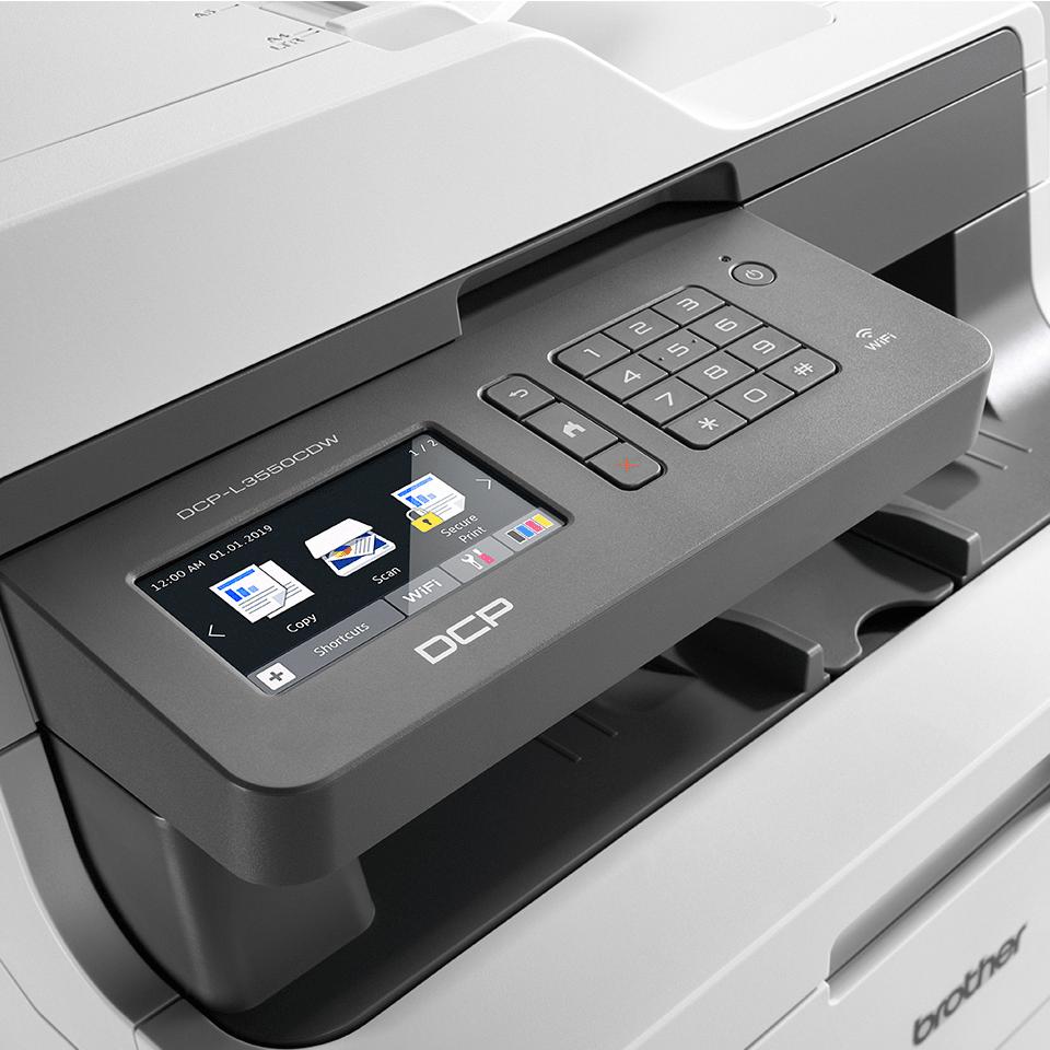 DCP-L3550CDW trådløs LED-farveprinter alt-i-én  4