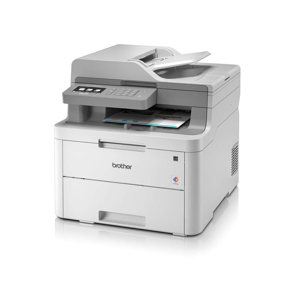 DCP-L3550CDW -  LED-farveprinter alt-i-én  2